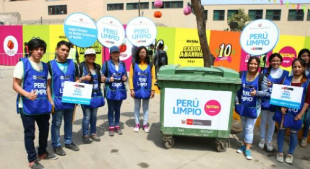 campaña PERÚ LIMPIO llega Feria Gastronómica Mistura