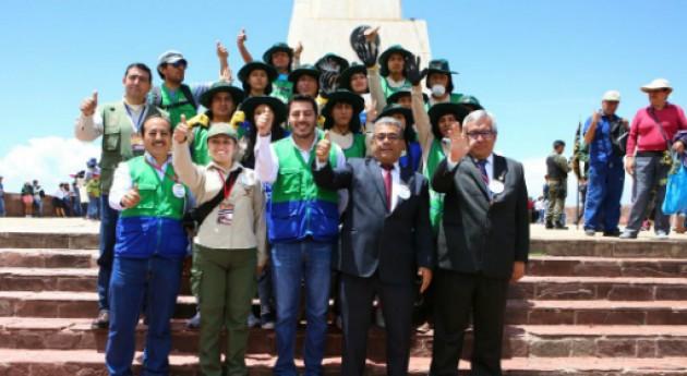 campaña PERÚ LIMPIO recoge casi 7 toneladas residuos Pampa Ayacucho