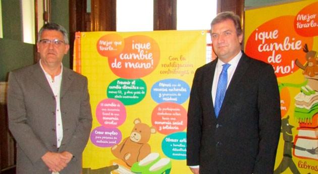 contenedor recogerá juguetes, ropa y libros Delegación Gobierno Rioja