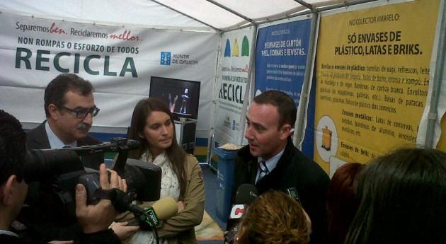 Xunta Galicia fija como objetivo triplicar porcentajes reutilización y reciclado Galicia, pasando 10% al 30%