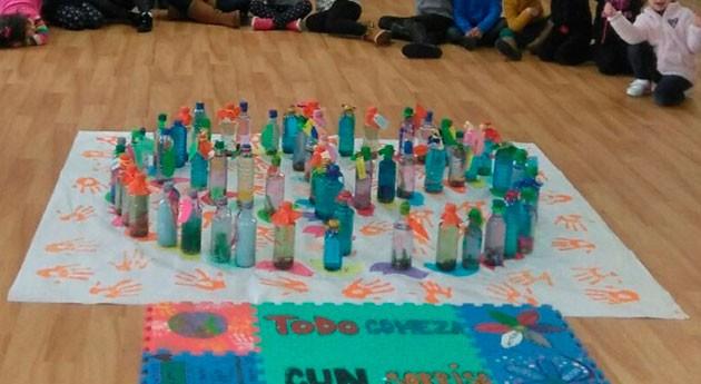 Ayuntamiento Ponteceso y Sogama forman 350 escolares materia reciclaje