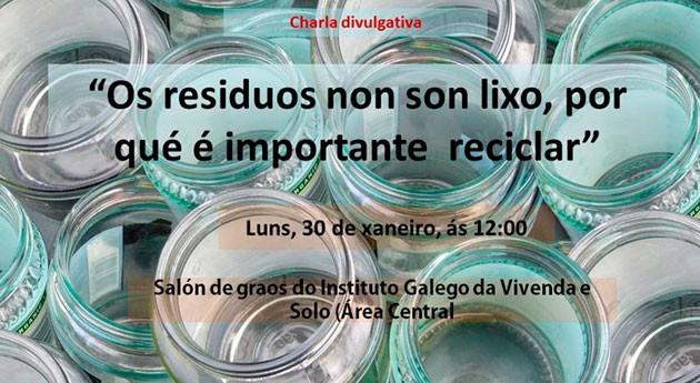 José Luis Gallego imparte Santiago charla consumo responsable y reciclaje