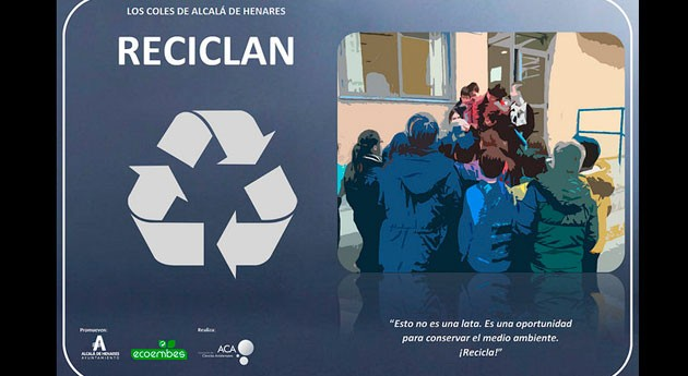 centros educativos Alcalá Henares se implican gestión residuos