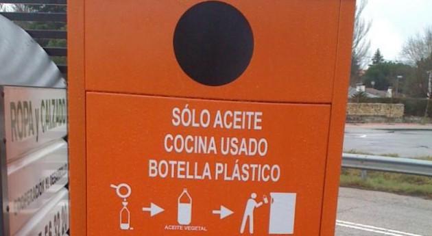 Campaña Reciclaje Aceite Vegetal centros educativos Colmenar Viejo