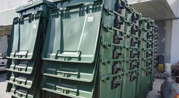 Conil suma 150 contenedores flota depósito residuos orgánicos, plásticos y envases