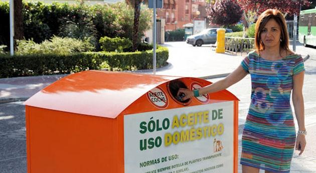 San Sebastián Reyes estrena 20 nuevos contenedores reciclaje aceite doméstico