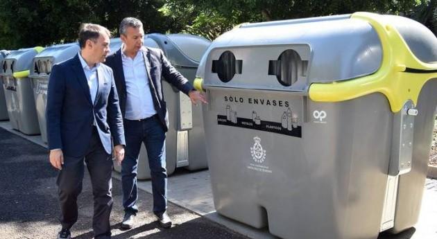Santa Cruz Tenerife estrena 296 nuevos contenedores residuos