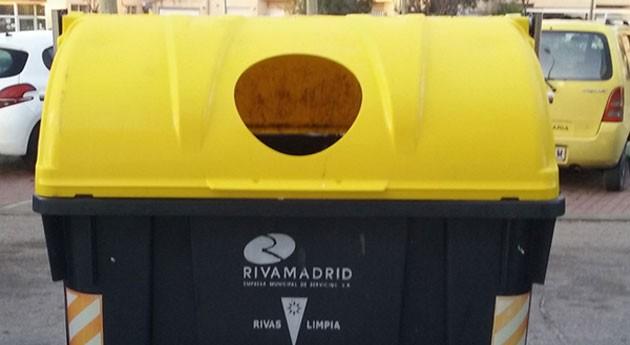 Mejores tapas mejor reciclaje: Rivas renueva contenedores
