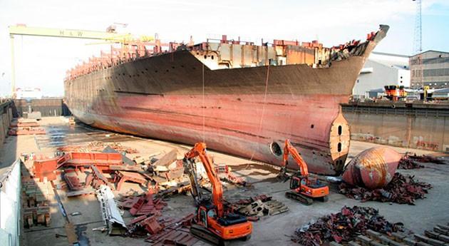 Tendencias positivas desguace y reciclado buques 2016