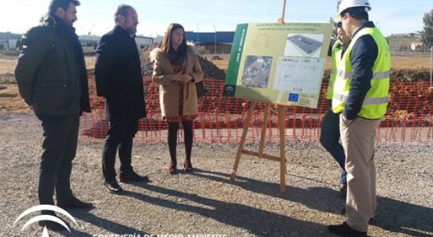 Avanzan obras nuevo punto limpio recogida residuos Fuente Obejuna