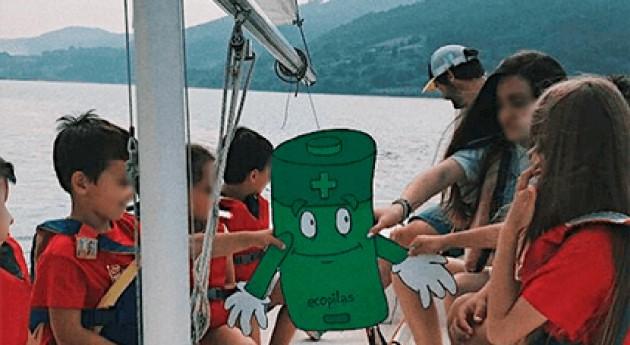 74 clubes y escuelas náuticas españolas recogieron pilas usadas reciclaje este verano