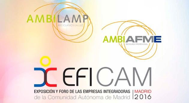 AMBILAMP y AMBIAFME, presentes nueva edición EFICAM
