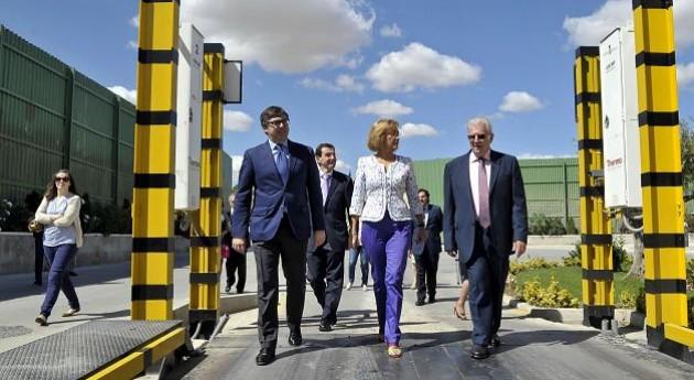 Ana Isabel Mariño inaugura mayor centro recuperación Residuos Sólidos Urbanos Comunidad Madrid