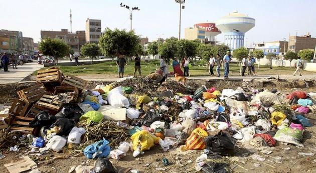 Perú declara emergencia gestión residuos distrito José Leonardo Chiclayo