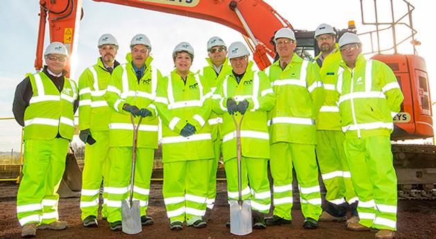 marcha centro reciclaje y valorización energética Edimburgo y Midlothian, Escocia