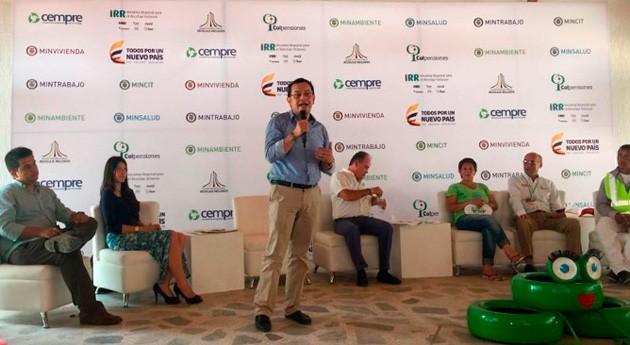 Valledupar acoge primera feria formalización recicladores colombianos