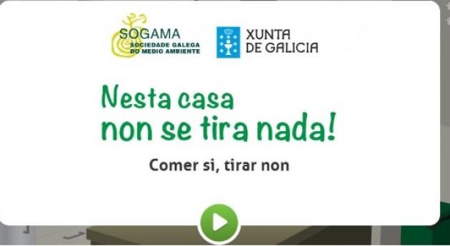 ¡ esta casa no se tira nada!, juego online Sogama desperdicio alimentario