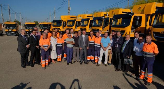 Sevilla invierte 9 millones euros mejorar parque vehículos y recursos Lipasam