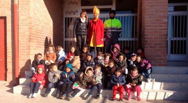 Jumilla fomenta reciclaje varias actividades colegios
