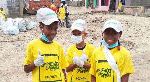 'Limpiemos Colombia' finaliza éxito