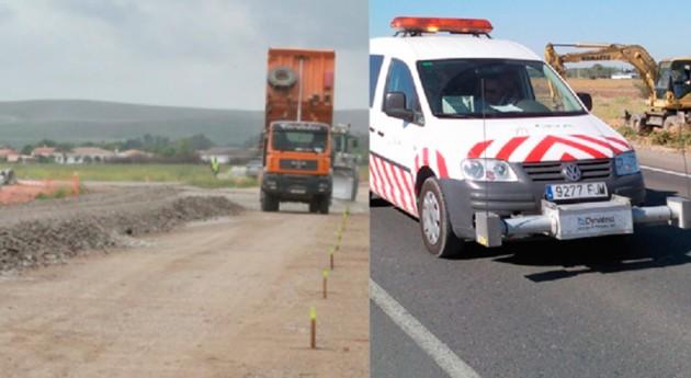 Demostrada versatilidad reciclados escombro como materia prima carreteras