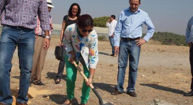 Comienzan obras punto acopio RCDs Nerva, Huelva