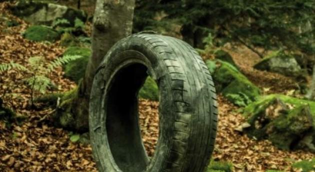 TNU, 2006 reciclando neumáticos