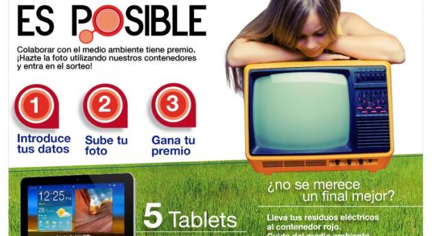 Gran éxito campaña 'Otro Final es Posible' recogida residuos electrodomésticos