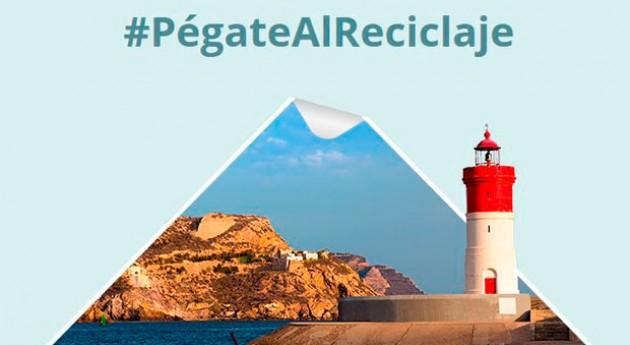 Separar bien tiene premio campaña Pégate al Reciclaje