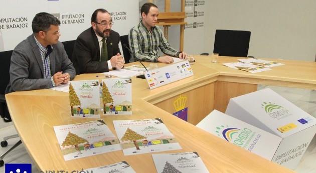 Promedio distribuye ayuntamientos y centros educativos Badajoz guía reciclar Navidad
