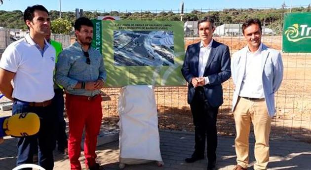 Iniciadas obras construcción punto limpio recogida residuos Barbate