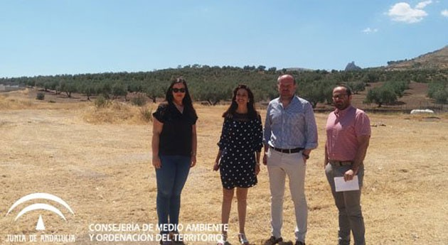 Andalucía invertirá 306.375 euros construcción nuevo Punto Limpio Luque