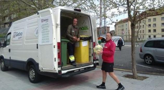 Aumenta más 40% kilos residuos recogidos Punto Limpio Móvil Getxo