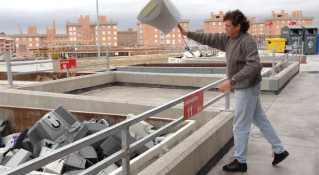 Punto Limpio San Sebastián Reyes recoge más 1.200.000 kilos residuos durante 2012