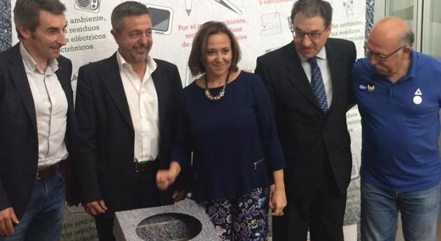 sistemas reciclaje RAEE colaboran Quebrantahuesos 2016
