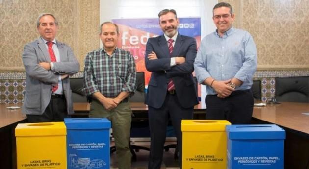 Impulso recogida selectiva residuos polígonos industriales Toledo