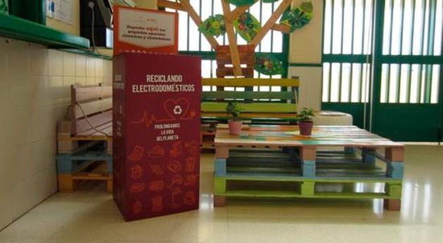 Lanzarote lleva reciclaje pequeños electrodomésticos centros secundaria isla