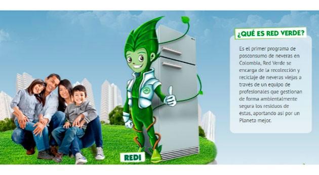 Red Verde, primer programa posconsumo electrodomésticos Colombia, amplía alcance