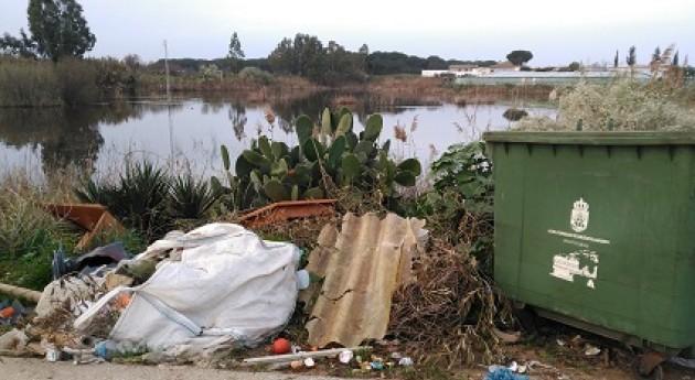 Detectados 5 vertederos incontrolados futuro Parque periurbano Sanlúcar Barrameda