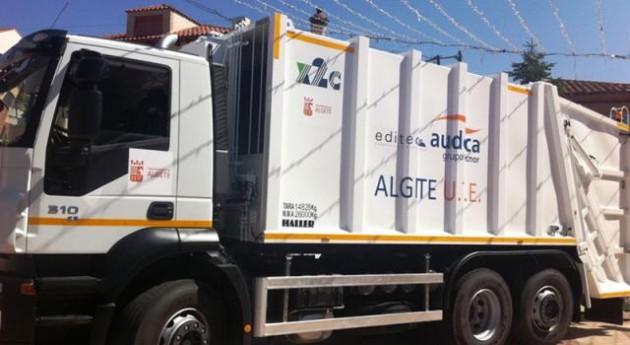 Nuevos camiones para el servicio recogida de residuos s lidos urbanos de algete - Recogida de muebles ayuntamiento de madrid ...
