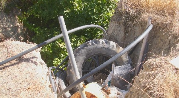 abandono residuos se convierte problema Baena