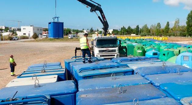 segunda vida más 1.500 contenedores sustituidos Salou