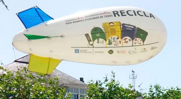 reciclaje estará presente Pantín Classic Galicia