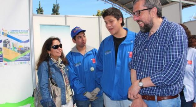 Recolectadas 6 toneladas residuos 2º día feria reciclaje San Pedro Paz