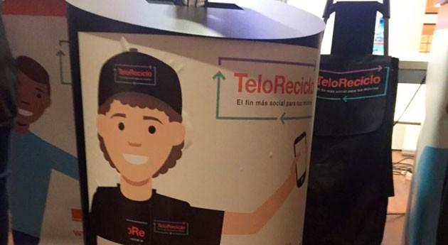 TeloReciclo impulsa reciclaje móviles y empleo personas discapacidad intelectual