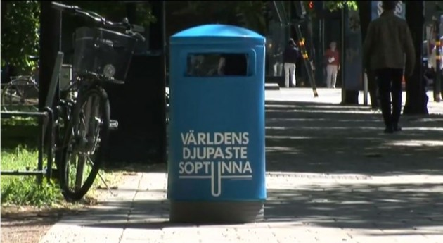 The world's deepest bin