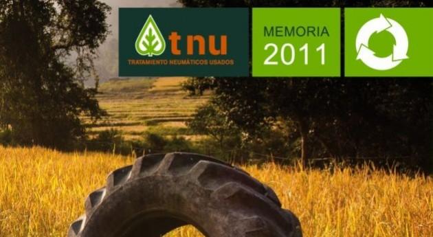 TNU recogió 51.800 toneladas neumáticos 2011