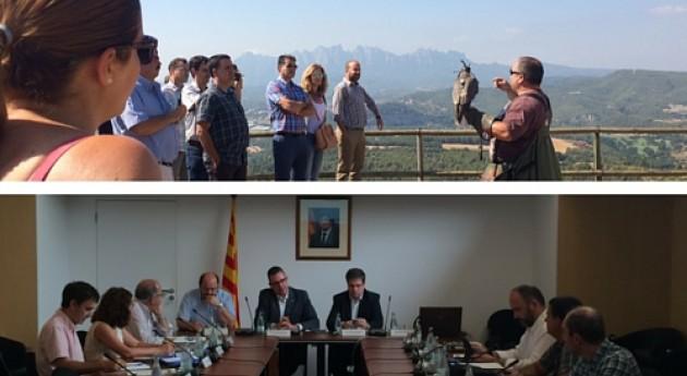 Extremadura y Canarias se interesan gestión residuos Cataluña
