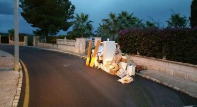 Calvià localiza 49 vertidos incontrolados residuos espacios públicos