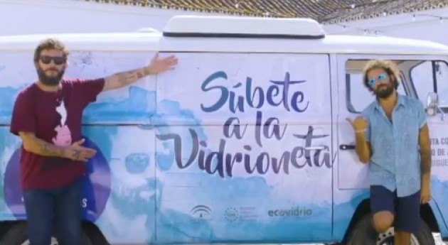 """"""" Vidrioneta Reciclaje"""" Ecovidrio llega Andalucía concienciar más jóvenes"""
